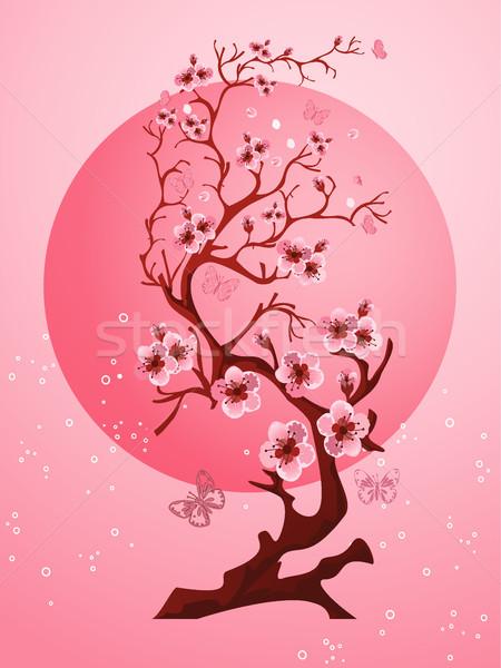 桜 美しい 春 自然 シーン ピンク ストックフォト © igor_shmel