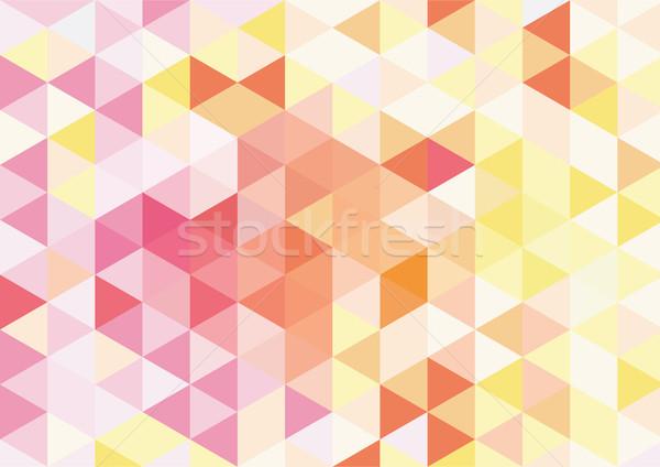 オレンジ モザイク カラフル Webデザイン ファッション 抽象的な ストックフォト © igor_shmel