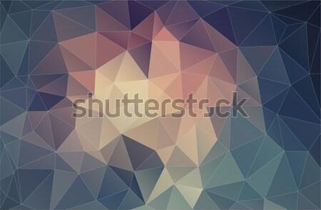 Pastel color formas diseno web luz fondo Foto stock © igor_shmel