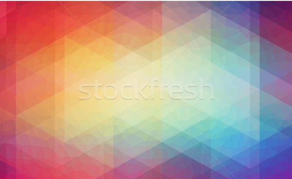 Abstract 2D background with triangle shapes Stock photo © igor_shmel