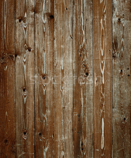 Deep Brown Wood Background Stock photo © igor_shmel