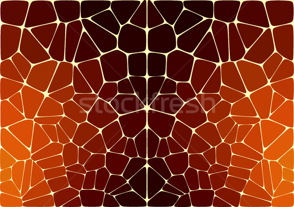 The vector pattern like jaguar or leopard skin print Stock photo © igor_shmel