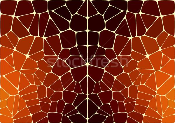 вектор шаблон подобно Jaguar Leopard кожи печать Сток-фото © igor_shmel