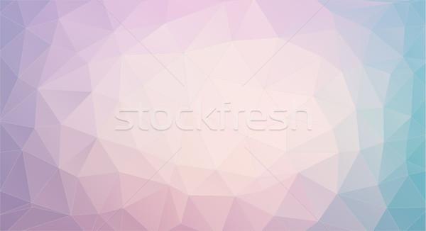 Háromszög pasztell színek háló textúra divat Stock fotó © igor_shmel