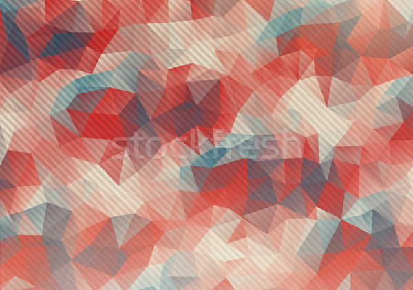 Flat pastel colors polygonal background Stock photo © igor_shmel