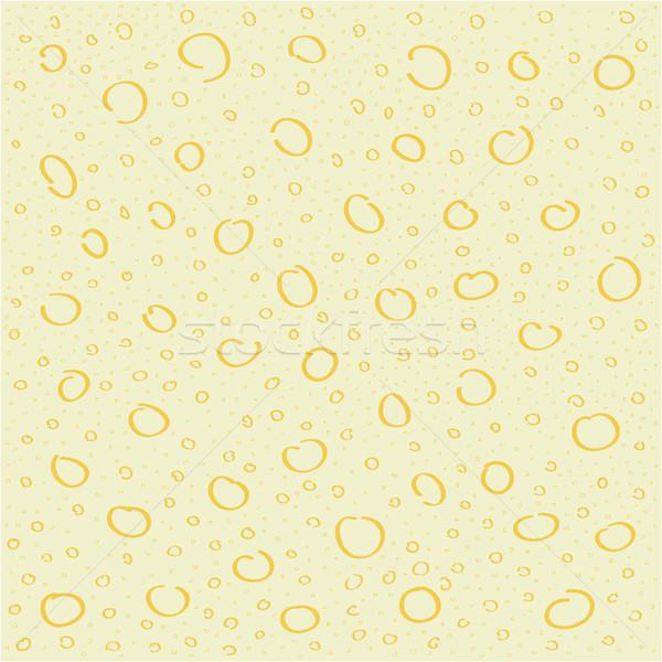 abstract circle hand-made vector pattern Stock photo © igor_shmel