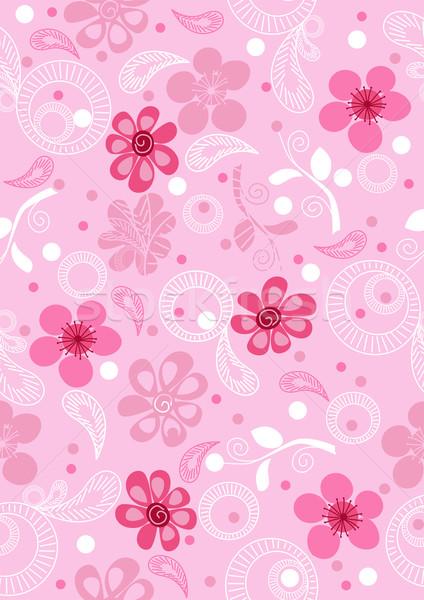 Abstrato colorido floral elegância vetor flor Foto stock © igor_shmel