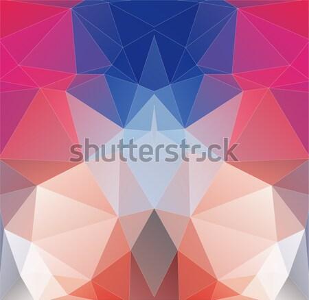 Abstract helling driehoek web design textuur Stockfoto © igor_shmel