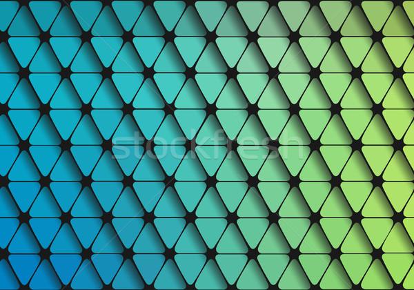 Geométrico triángulo wallpaper vector formas agua Foto stock © igor_shmel