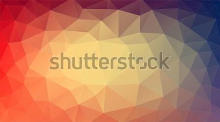üçgen soyut ışık grafik modern stil Stok fotoğraf © igor_shmel