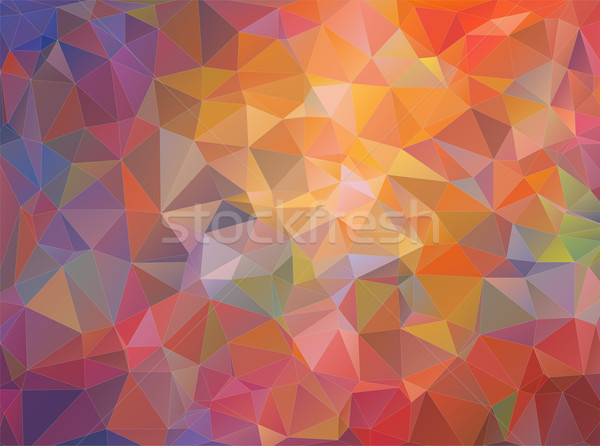 Abstrato mosaico triângulo web design projeto Foto stock © igor_shmel