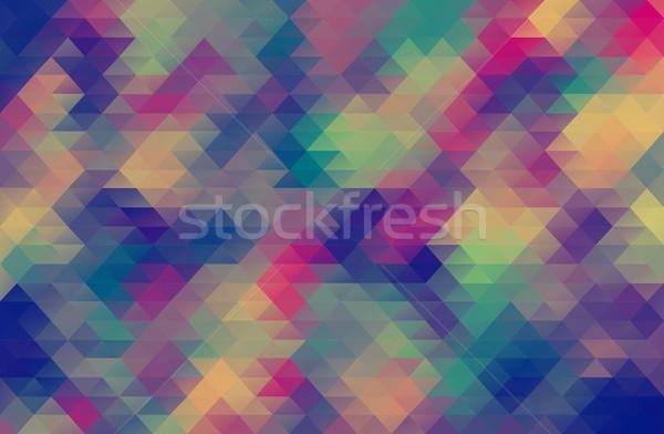 Abstrato grunge vintage cor fundo pintura Foto stock © igor_shmel