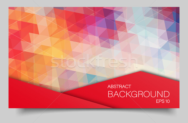 Foto stock: Brilhante · cor · bandeira · triângulo · formas · água
