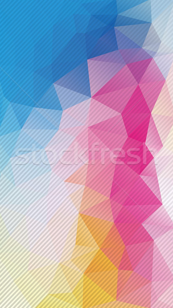 Vertical Flat Background of geometric triangle shapes. Stock photo © igor_shmel