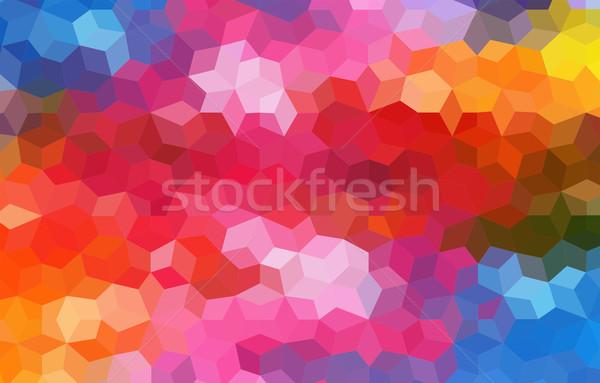 Brilhante mosaico abstrato papel textura Foto stock © igor_shmel