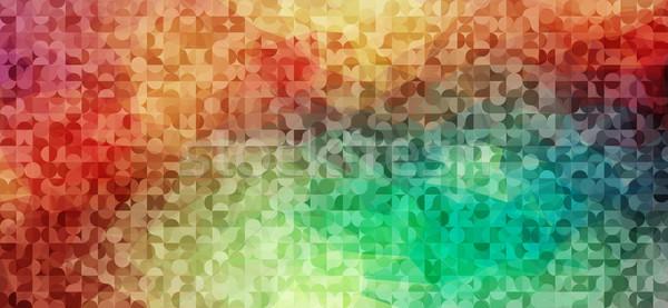 抽象的な サークル パターン 光 背景 ストックフォト © igor_shmel