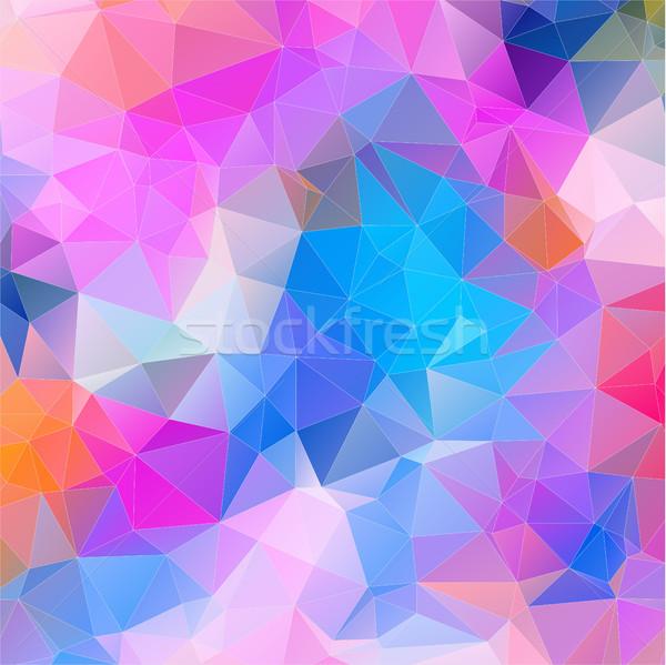 Mosaico cerâmico formas geométrico textura projeto Foto stock © igor_shmel