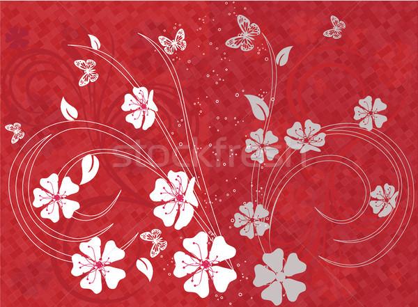 Flor de cereja primavera natureza cena páscoa flores Foto stock © igor_shmel