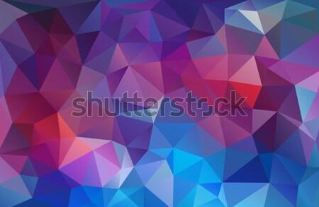 Parlak üçgen mozaik doku ışık Stok fotoğraf © igor_shmel