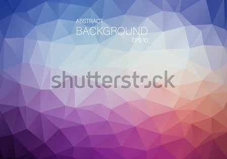 抽象的な レトロな 色 三角形 光 デザイン ストックフォト © igor_shmel