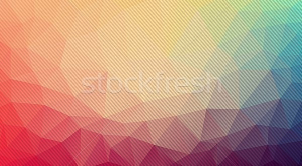 Geométrico formas vetor abstrato projeto Foto stock © igor_shmel