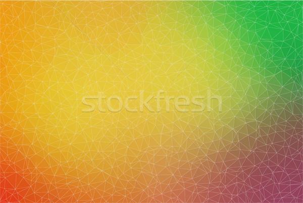 Gradiente cor triângulo formas projeto web design Foto stock © igor_shmel