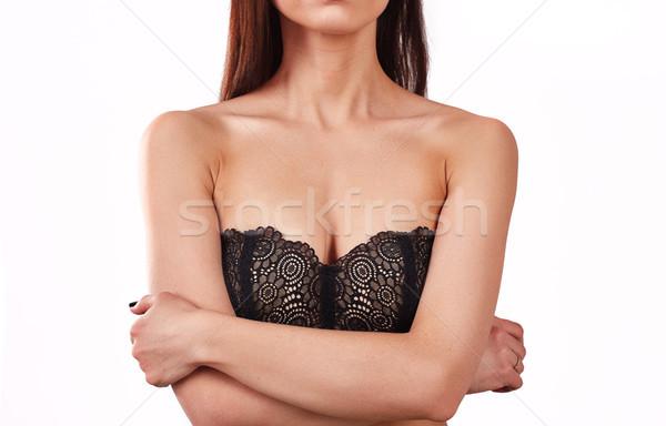 üstsüz kadın vücut büyük meme güzellik Stok fotoğraf © igor_shmel