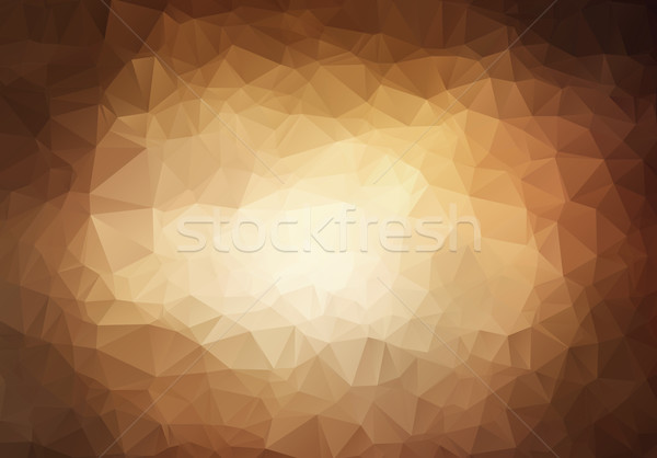 Abstract triangle  brown background  Stock photo © igor_shmel