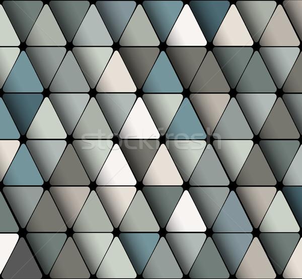 Dizayn duvar kağıdı üçgen geometrik su Stok fotoğraf © igor_shmel
