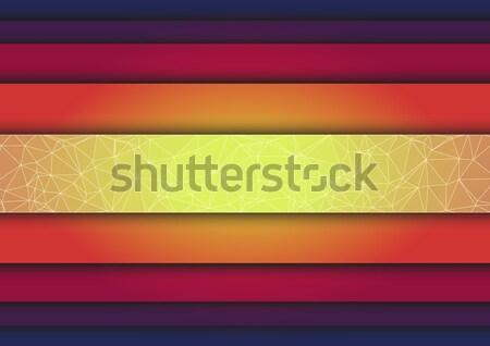 Linhas abstrato vetor colorido cor papel de parede Foto stock © igor_shmel