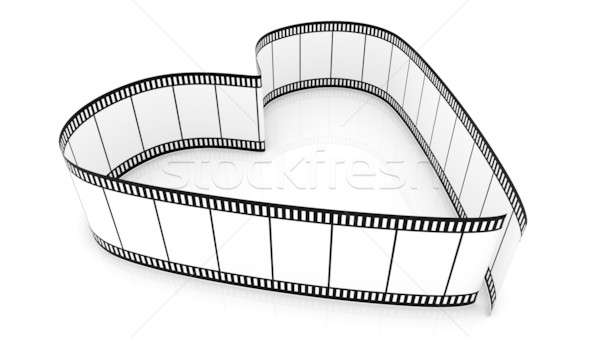Blank Filmes Heart Stock photo © ijalin