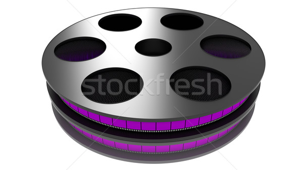 3D Film roll Stock photo © ijalin