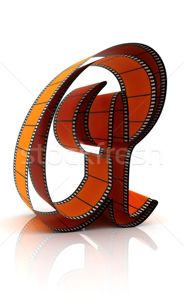 The Alphabet From A Film Stock photo © ijalin