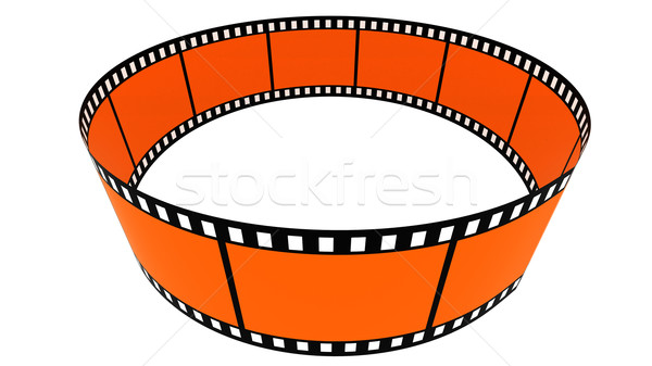 3d blank films ring Stock photo © ijalin
