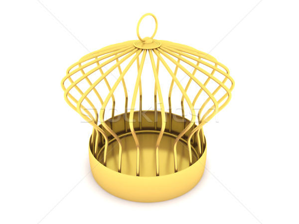 Golden Cage Stock photo © ijalin