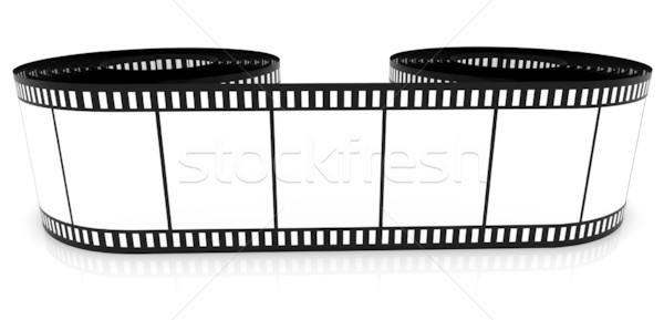 Taśmy filmowej kolor film w górę Zdjęcia stock © ijalin