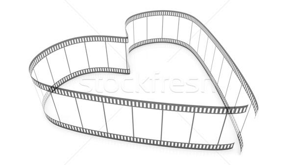 Transparent Blank Filmes Heart Stock photo © ijalin