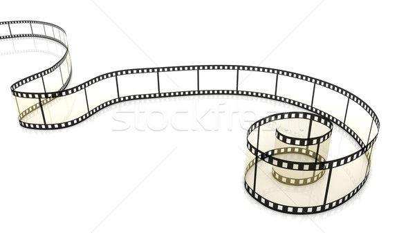 Blank film strip Stock photo © ijalin