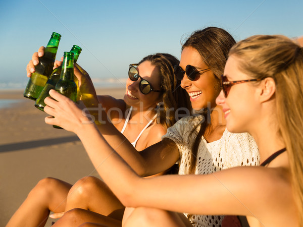 Enjoy the beach Stock photo © iko