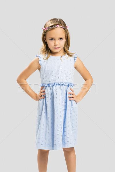 かわいい 王女 肖像 幸せ 女の子 ストックフォト © iko