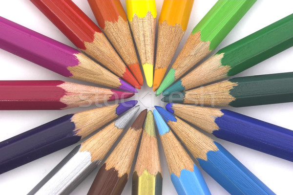 Color Pencils Stock photo © iko