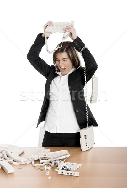 Stressful work Stock photo © iko