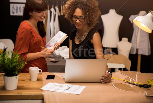 Fashion designers Stock photo © iko