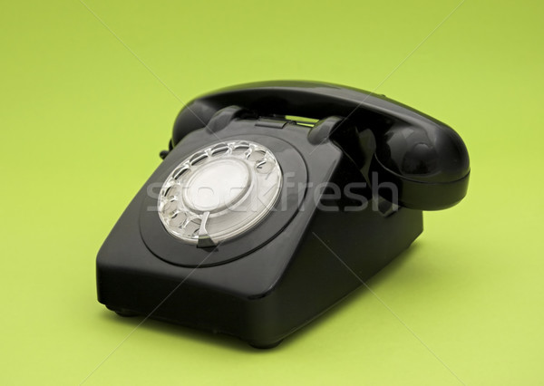 Vintage phone Stock photo © iko