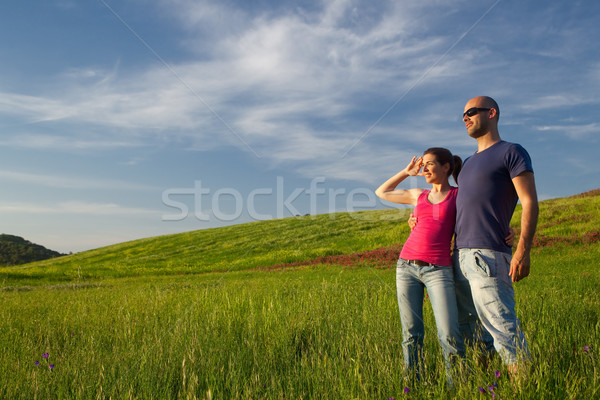 Young beautiful couple Stock photo © iko