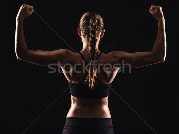 Getting stronger Stock photo © iko