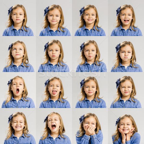 Child moods Stock photo © iko