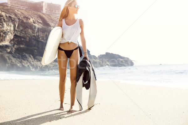 Surf is my passion Stock photo © iko
