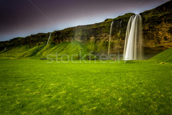 Seljalandsfoss waterfall Stock photo © iko