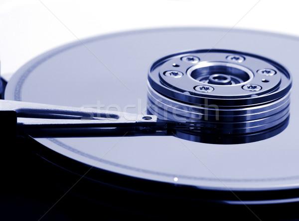 Bilgisayar sabit disk sürmek açmak sığ Sunucu Stok fotoğraf © iko